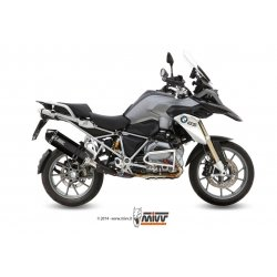 Silencieux MIVV SPEED EDGE BMW R1200 GS lc 13-18 (Steel Black)