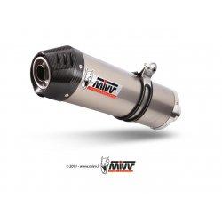 Silencieux MIVV OVAL BMW K1200 R-S-GT-LT 05-12 (Titane)