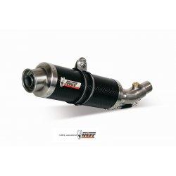 Silencieux MIVV GP APRILIA RSV1000 04-08 / TUONO 1000 06-10 (Carbone)