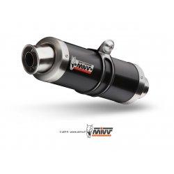 Silencieux MIVV GP APRILIA RSV4 APRC 11-17 / TUONO V4 1000 APRC 11-14 (Steel Black)