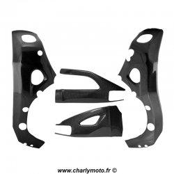 Pack protections de cadre et bras oscillant Carbone SUZUKI GSX-R 1000 07-08