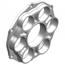 * Porte couronne AFAM Alu PCD3 - DUCATI 1098 / 1198 - 6 fixations - Type 51803 / 51804