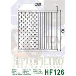 Filtre à huile HIFLOFILTRO HF126 KAWASAKI Z750 76-82 / Z900 73-75 / Z1000 74-81 / KZ1000 77-81 / KZ1300 79-83 / ZN1300 83-88