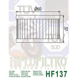 Filtre à huile HIFLOFILTRO HF137 SUZUKI DR 500 - 600 - 650 - 750 - 800