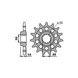 Pignon de sortie de boite PBR type 2199 / 15-16-17-18 Dents - Pas 520 / BMW S1000RR - S1000XR - HP4 09-20