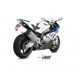 Silencieux MIVV SPEED EDGE BMW S1000RR 15-18 (Inox)