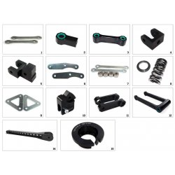 Kit de rabaissement de selle TECNIUM BMW S1000RR - HP4 12-18 (-30mm)