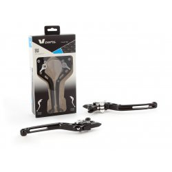 Leviers racing V-Parts TRIUMPH SPEED TRIPLE 1050 11-15 (115GB)