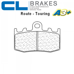 Plaquettes de frein CL BRAKES 1101A3+ BMW HP2 1200 MEGAMOTO 07-08 (Avant)