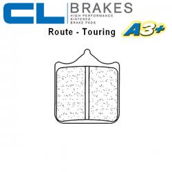 Plaquettes de frein CL BRAKES 1033A3+ KTM 990 SUPER DUKE - R 05-13 (Avant)