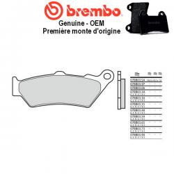 Plaquettes de frein BREMBO Genuine OEM 07BB0390 KTM 950 ADVENTURE LC8 02-08 (Avant)