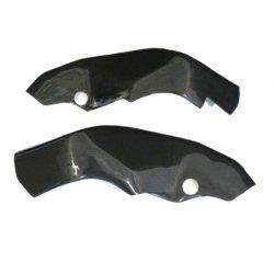 Protections de cadre MOTOFORZA KAWASAKI ZX-10R 04-05 (Carbone - Carbone/Kevlar - Titanium)