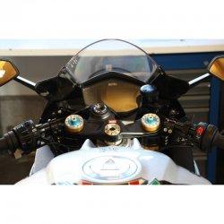 Demi guidons ABM Multiclip APRILIA RSV4 RR - RF (ABS) 17-19 / RSV4 1100 FACTORY 19-20 (ABS) (avec kit de montage)