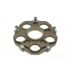 * Porte couronne AFAM Alu PCD2 - DUCATI 848 / 1000-1100 / S4R - 5 fixations - Type 51607 / 51608