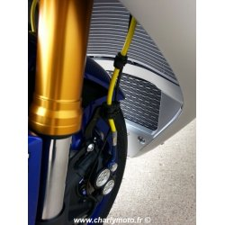Durites de frein aviation ABM YAMAHA YZF-R1 15-20 (ABS - Kit complet AV+ARR)