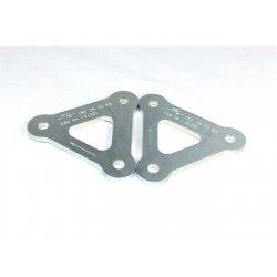 Kit de rabaissement de selle TECNIUM APRILIA RSV1000 99-00 (-30mm) / HONDA CBR 900 RR 954 02-04 (-25mm)
