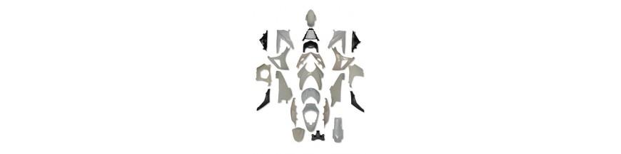 Carénages ROUTE type origine ABS
